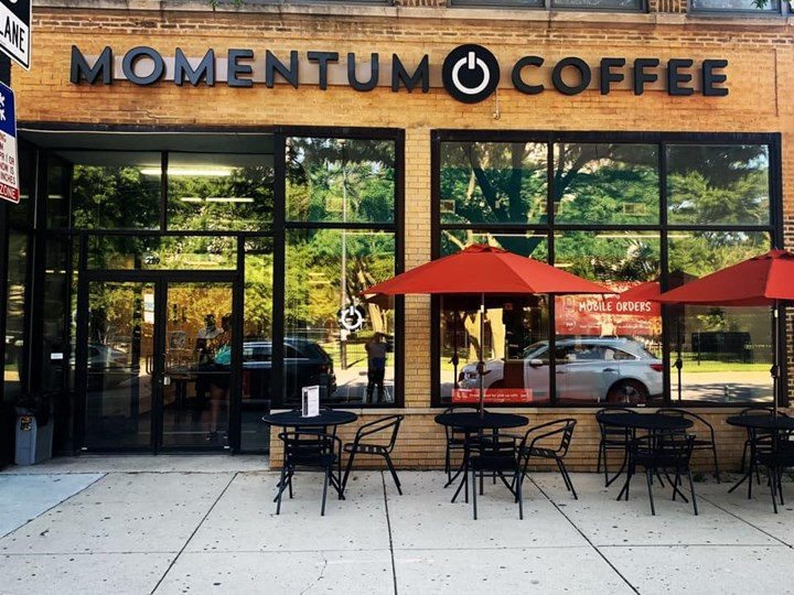 Making of Momentum Coffee and Coworking TM – July 3, 2020